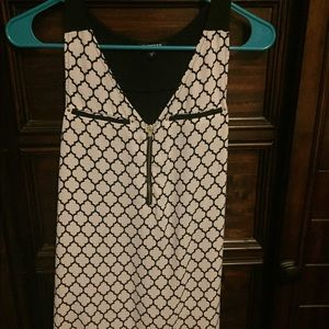 Express sleeveless blouse